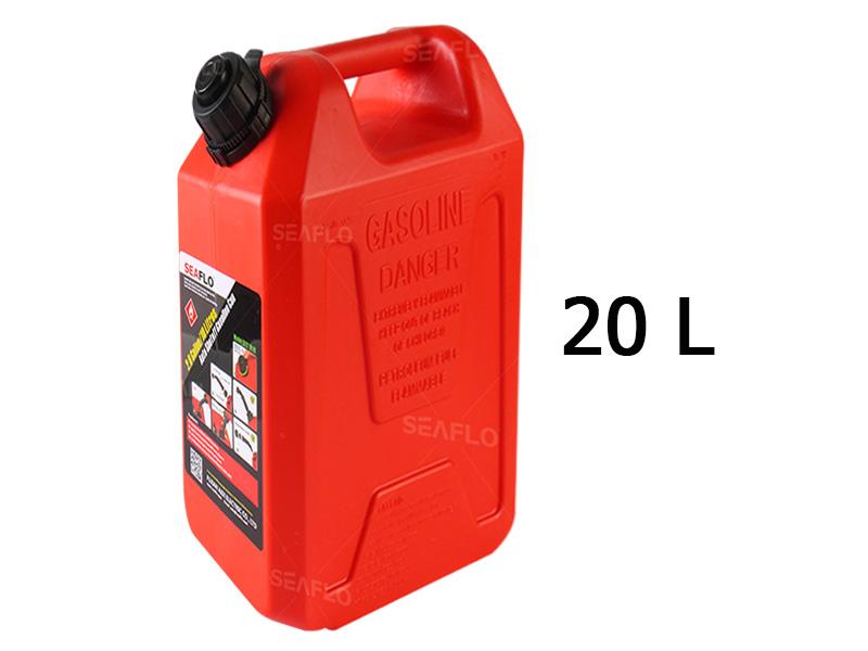 SEAFLO 20L Auto Shut Off Gasoline Cans
