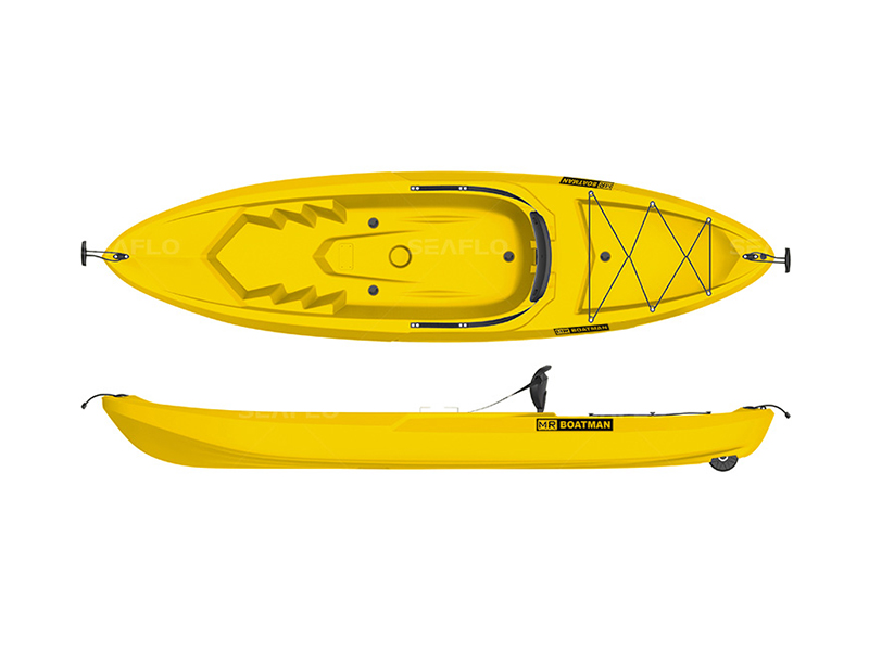 Blow molded kayaks